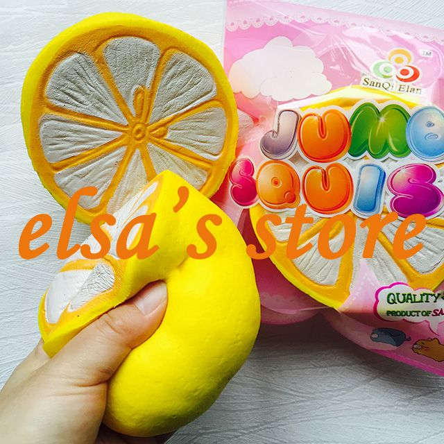 squishies wholesale 8pcs rare squishy jumpo lot kawaii squishy fruit lemon slow rising scented squishy toy gift Free Shipping