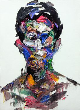 "Saatchi Online Artist KwangHo Shin; Painting, ""[122] untitled oil on canvas 72.8 x 53.2 cm 2013"" #art"