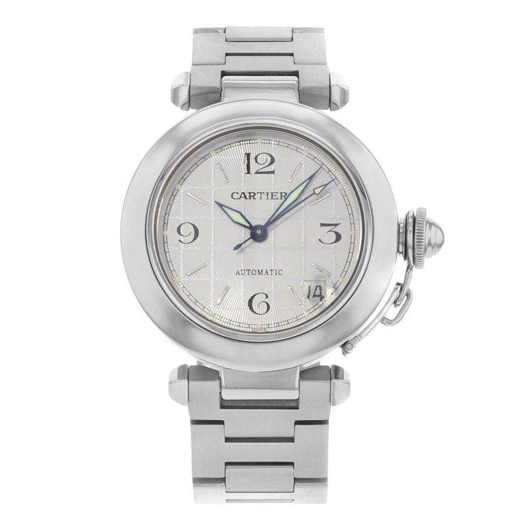 AUCTION Cartier Pasha W31023M7 Stainless Steel Automatic Watch