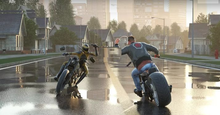 Road Rage Video Game,a fast-paced motorcycle combat game, where your skills on mad machines are put to the test. Race, fight and maneuver your way through.