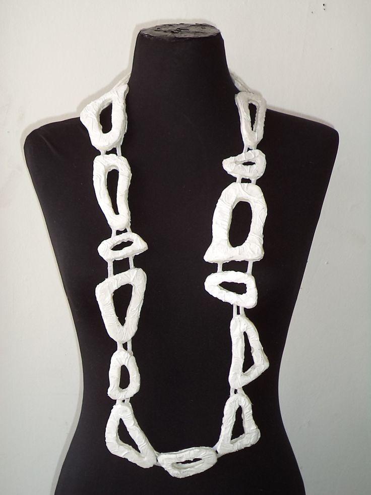 Bones necklace.Contemporary , hand-made jewel by Petros Mantouvalos for Nomoora Jewellery.Unique piece.Shop on line @ www.nomoora.com