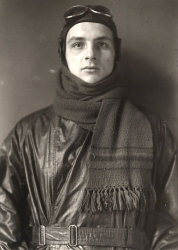 """August Sander: Aviator, 1920 by kraftgenie, via Flickr  Ever since I saw """"Notebook on cities and clothes"""" by Wim Wenders, I have been obsessed with the work of August Sander. Amazing pictures."""