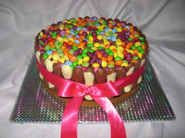 Fotorecept: Detská jahodovo - čokoládová torta