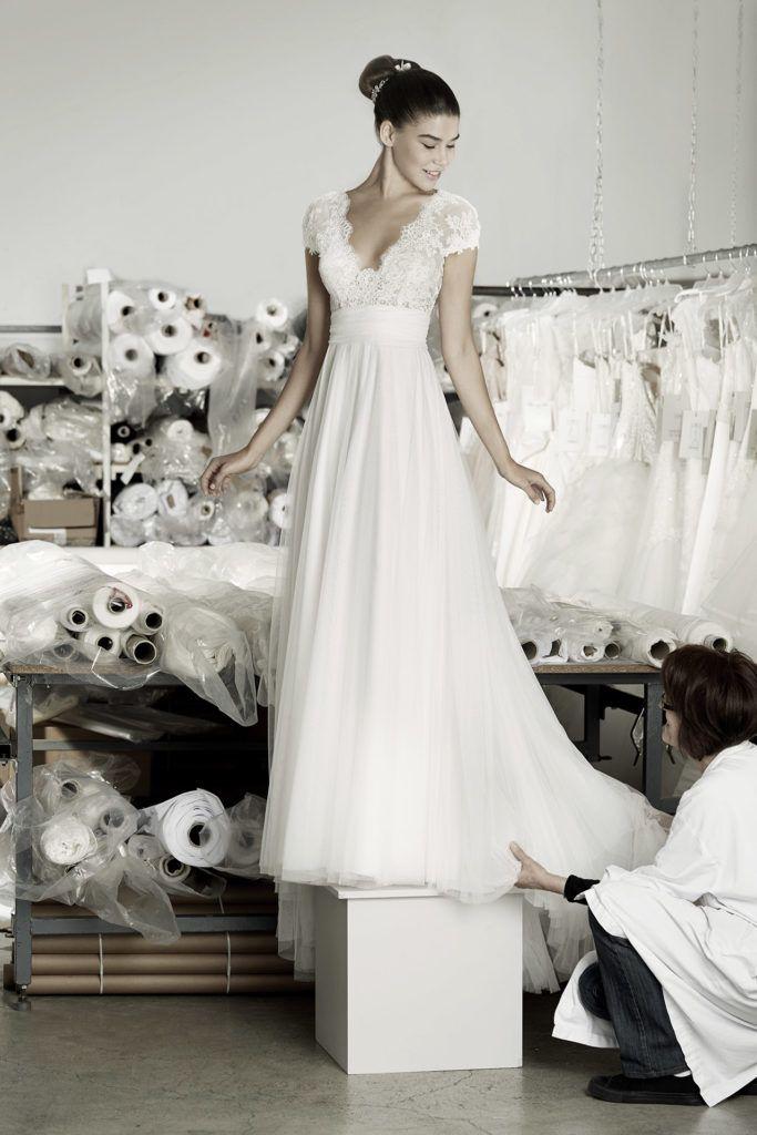 Robes de marques Cymbeline - Robes de mariée - Collection 2017 pour la robe de mariées Angel pour la collection 2017