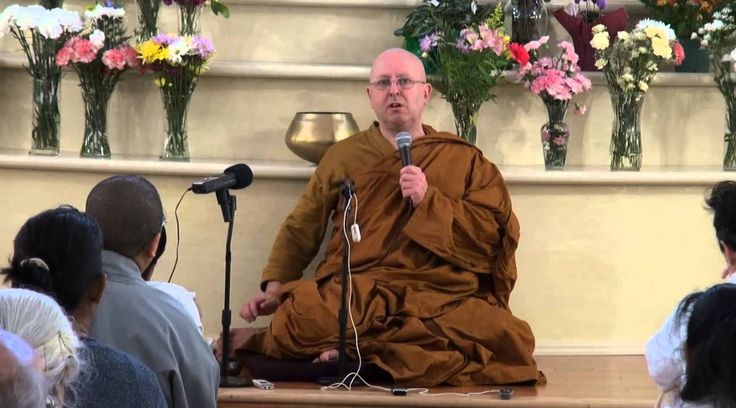 Meditation retreat with Ajahn Brahm Day 2 Instructions on meditation Tor...