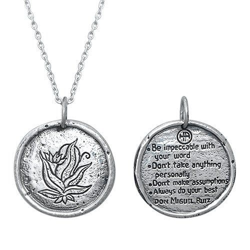 House of Alaia Tree of Life-Wave Travellers Coin Necklace ha9jY