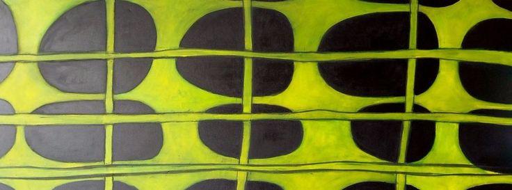 170x70x2 cm Abstrakt Gemälde Acryl Bild Kunst Großformat XXL wandsinnig-bunt