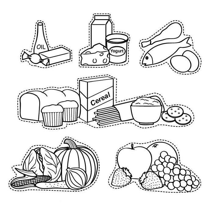 Principales 25 ideas incre bles sobre pir mide alimenticia for Proyecto cocina infantil