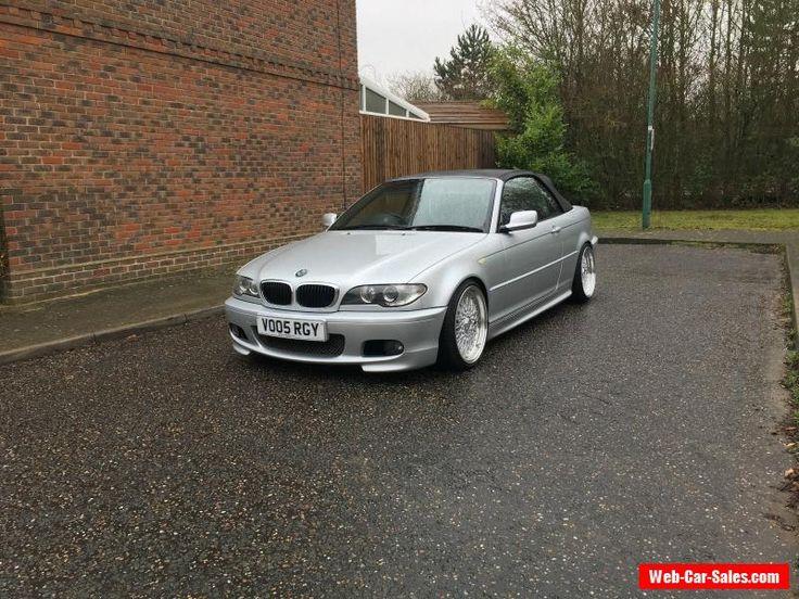2005 BMW 320 CD M SPORT SILVER CONVERTIBLE CABRIOLET FSH BBS E46 #bmw #320cdsport #forsale #unitedkingdom