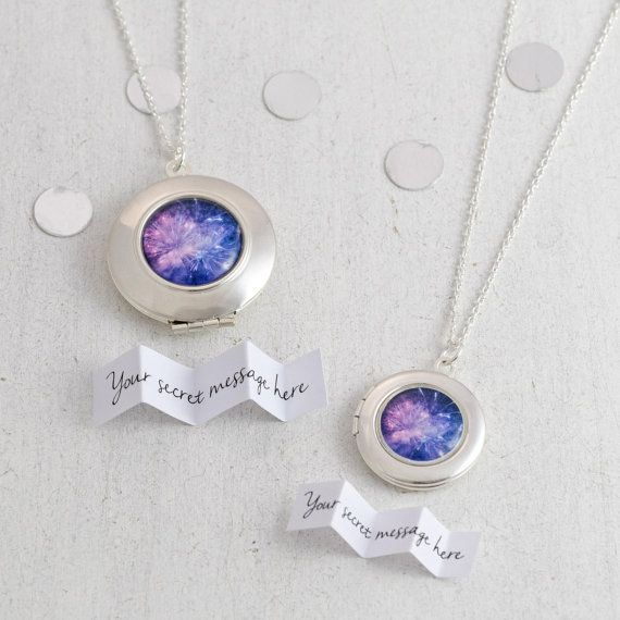 Personalised Fireworks Locket - perfect for any celebration