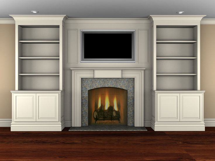 Best 25 fireplace built ins ideas on pinterest for Bookshelves next to fireplace