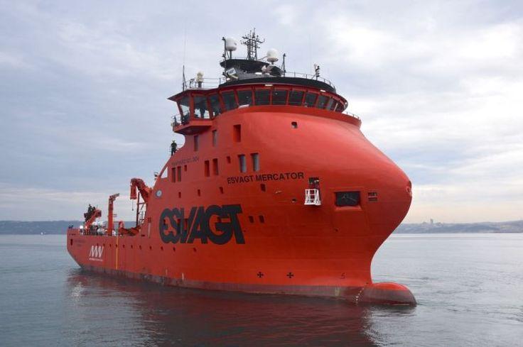 MHI Vestas and Esvagt officially name hi-tech service vessel for Belgian offshore wind farms