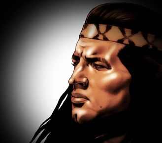 Winnetou art Pierre Brice by Tora