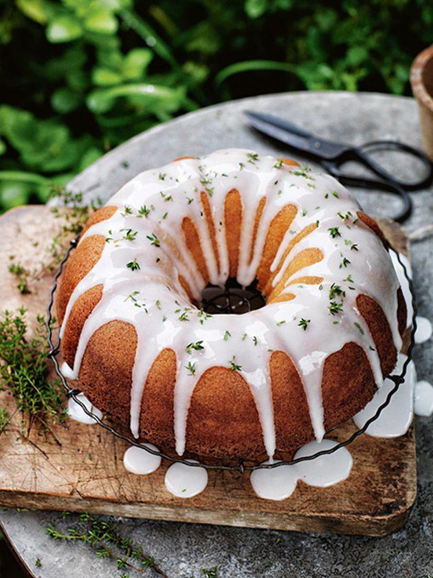 Donna Hay Lemon Peach Cake