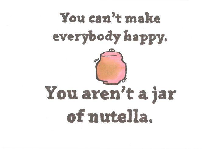 Nutella meme spread that shit