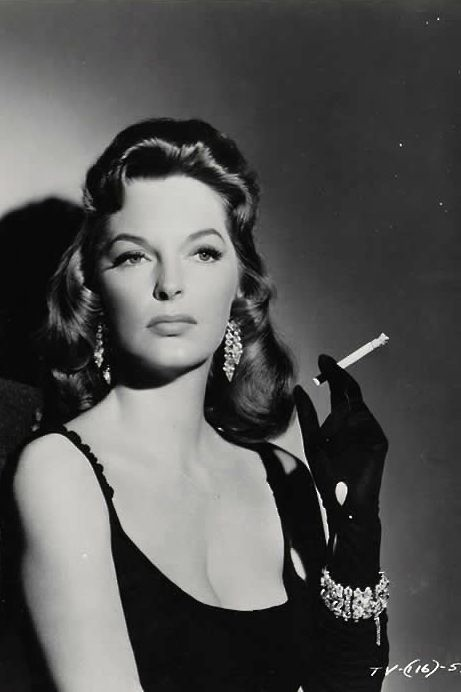 """JULIE LONDON  USA  popular actress and singer of the 40's and 50's who kept her looks well into her 40's.played nurse dixie mcall on """"EMERGENCY! """" in the 1970's."""