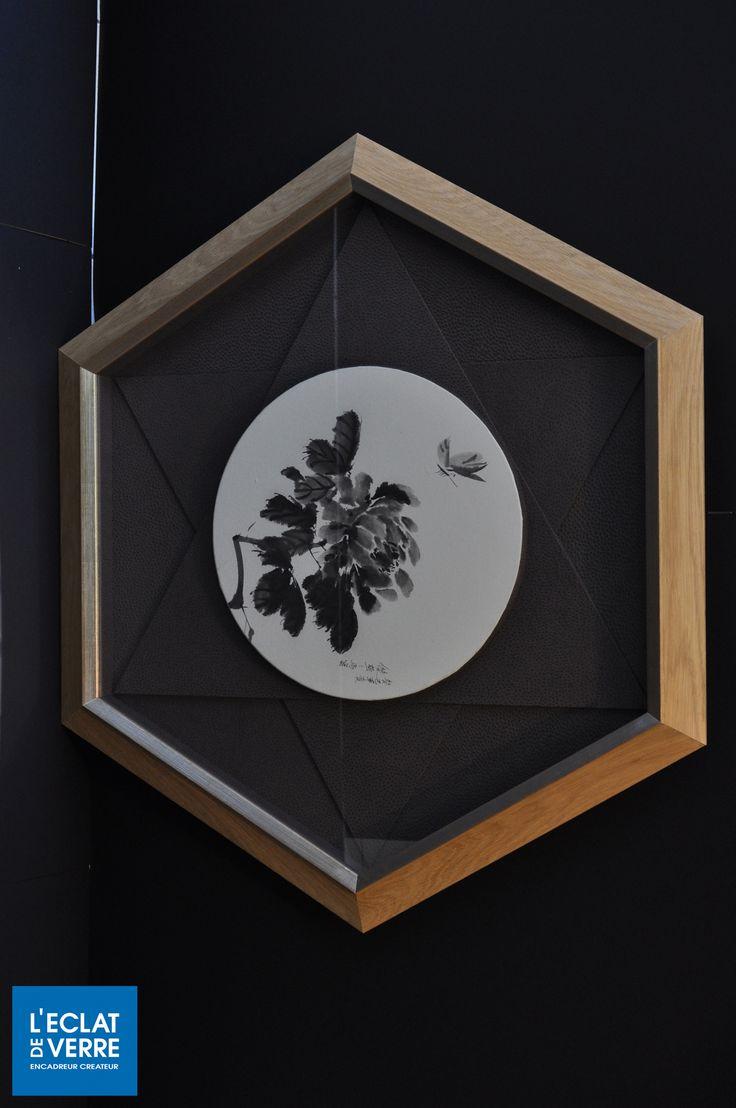 Une création originale de l'atelier de Marseille: le cadre hexagonal !