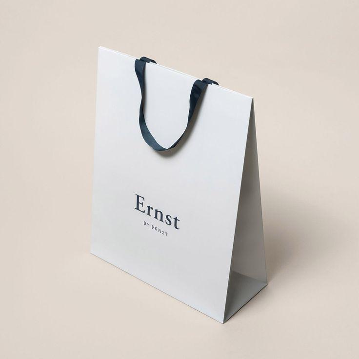 Brand identity for modern menswear brand, Ernst & Ernst, by @Larssen & Amaral  See more: https://mindsparklemag.com/design/ernst-ernst-identity/  More news: Like Mindsparkle Mag on Facebook
