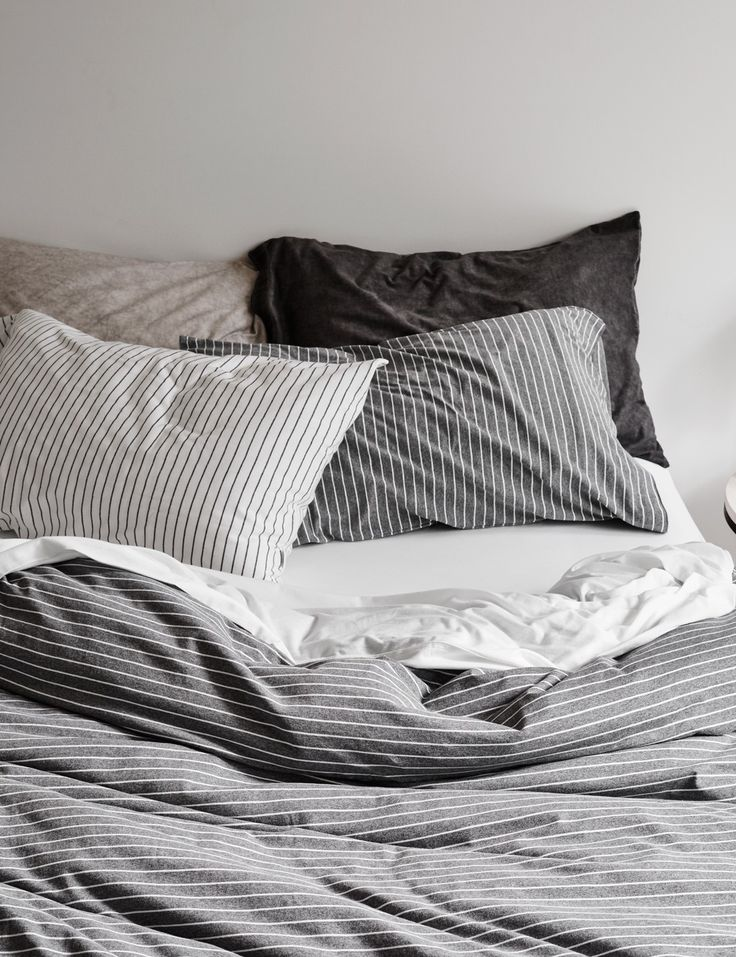 Charmant Cotton Jersey Bed Linen And Quilt Covers With A Subtle Stripe Design.  Quality European Fabric Woven In Europe And Designed Exclusively For Abode  Living To ...