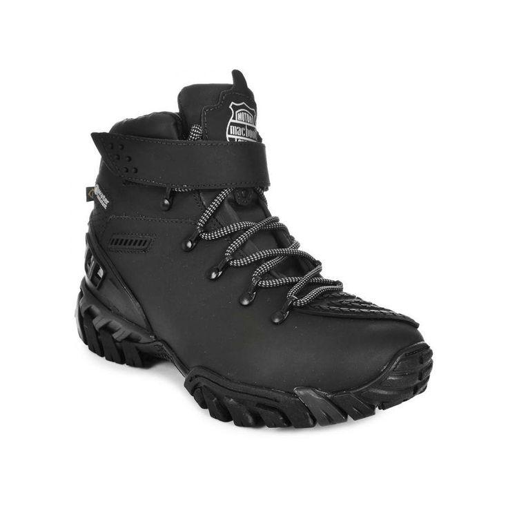 Bota Motoqueiro Macboot Resistente | Alpha Sapatos | Shopping Online