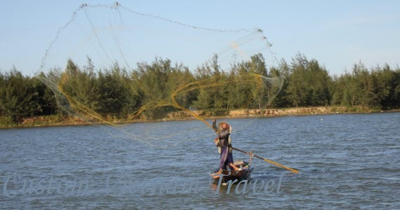 Netting in Hoi An