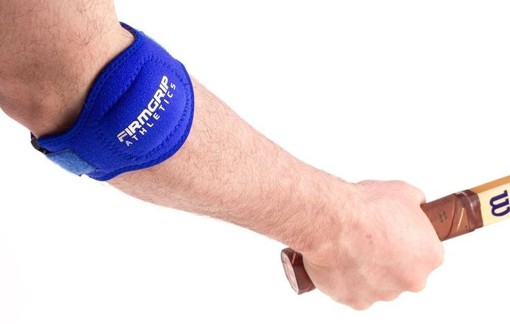 2 Pack of FirmGrip Athletics Tennis Elbow Support Brace   Blue   One Size #FirmGripAthletics