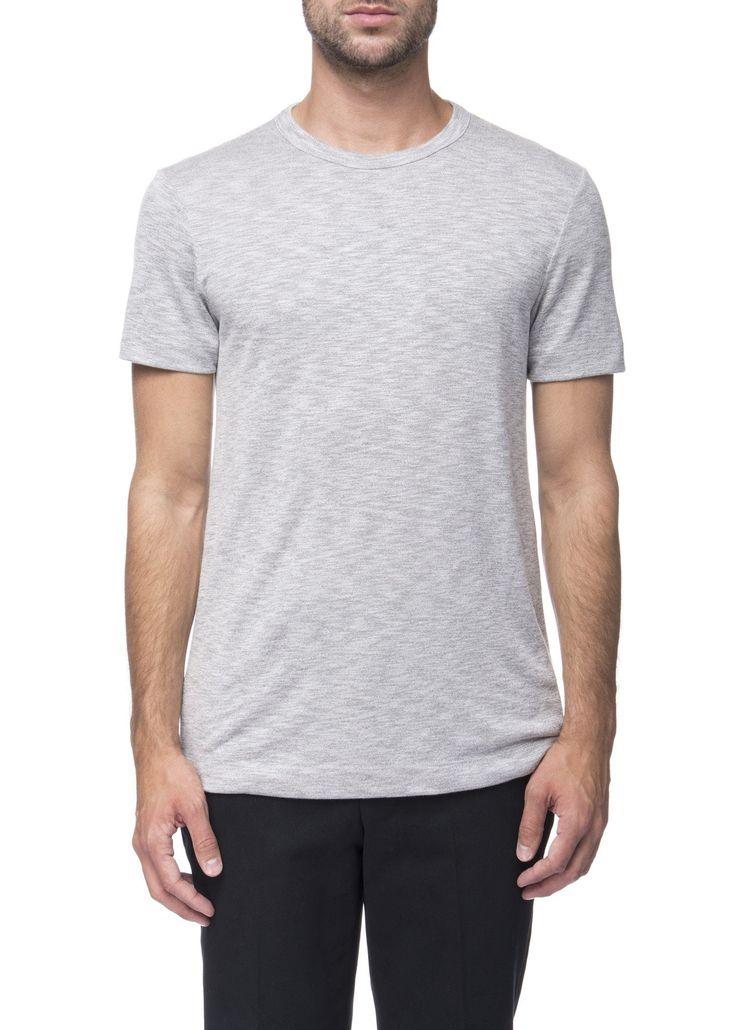 Theory - Menswear - FW16 // Grey Gaskell t-shirt in modal