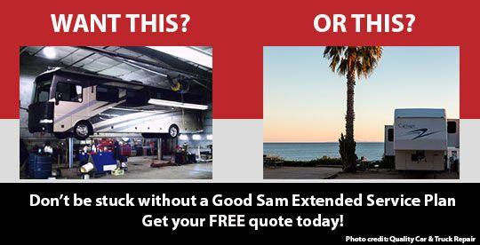 good sam extended service plan rv vehicle warranty. Black Bedroom Furniture Sets. Home Design Ideas
