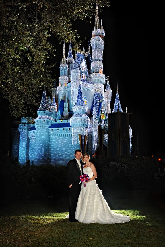 A different sort of Disney World Wedding -- gorgeous pictures!