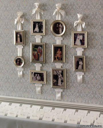 15 buenas ideas para colgar y decorar las paredes con fotos o cuadros.