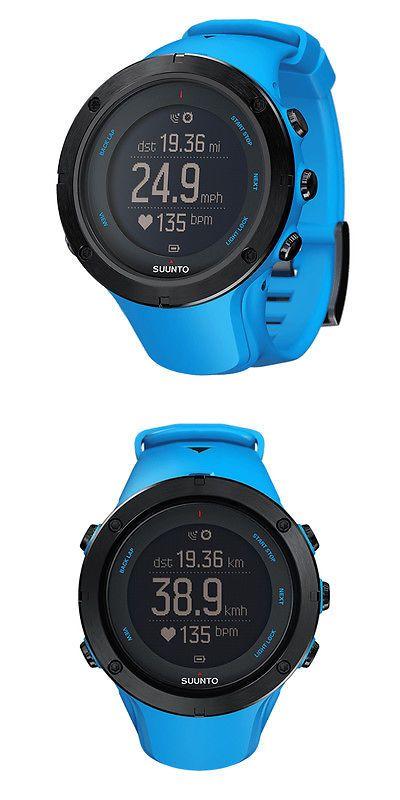 Triathlon 2918: Suunto Ambit3 Peak Sapphire Blue Gps Sport Watch Ss022306000 No Hrm -> BUY IT NOW ONLY: $339.0 on eBay!