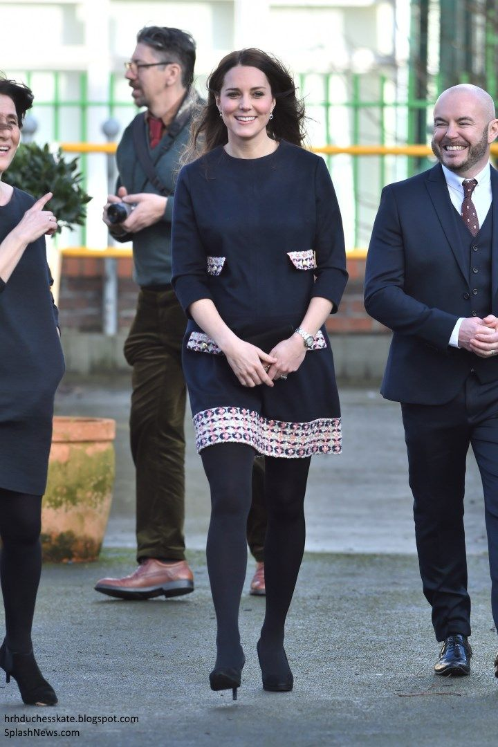 The Duchess of Cambridge carried out her first engagement of 2015 today, officially naming The...