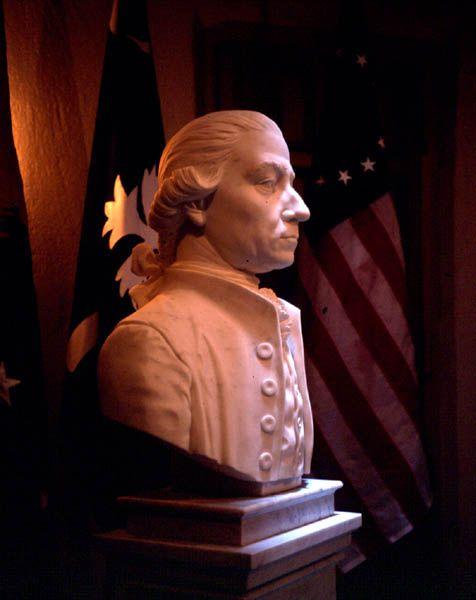 Nel 1999 realizza il ritratto di John Rutledge, destinato alla Historical Society di Charleston nel South Carolina