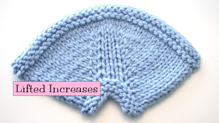 Knit Stitch Below Increase : 300 best images about Decrease, increase on Pinterest The stitch, Knitting ...
