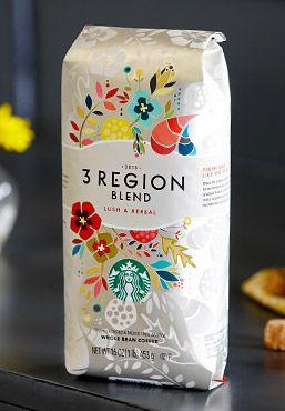 """3 Region Blend"" by Starbucks (source: http://www.starbucks.com/coffee/seasonal-favorites/3-region-blend)"