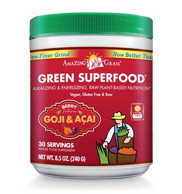 Amazing Grass Green Superfood - Goji and Acai. Killed my sugar cravings...in three days.