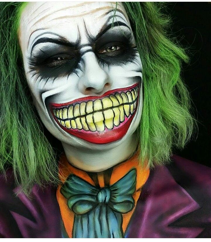 Best 25+ Joker Makeup Ideas On Pinterest