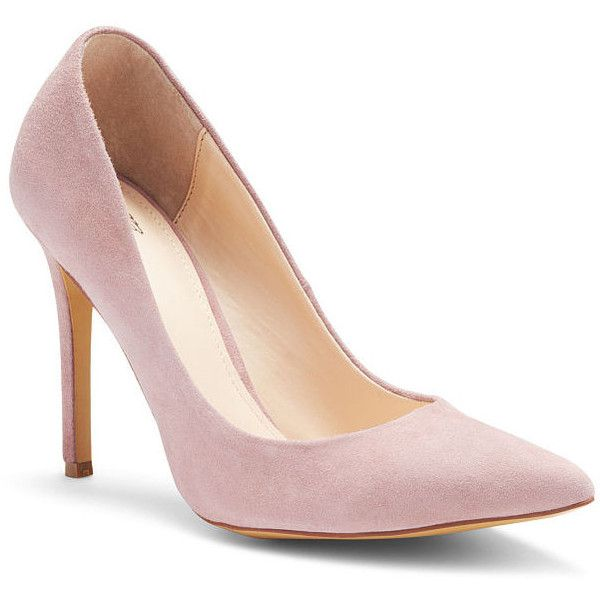 Victoria's Secret Pointed-toe Pump (€68) ❤ liked on Polyvore featuring shoes, pumps, apparel & accessories shoes, rose cloud suede, evening shoes, high heeled footwear, leopard slip-on shoes, evening pumps and leopard pointed toe pumps