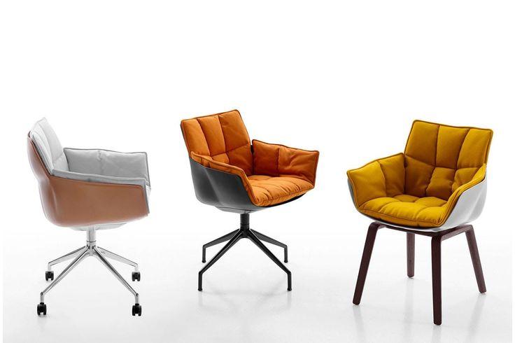 Husk '15 Chair by Patricia Urquiola for B&B Italia
