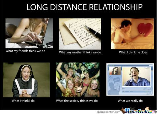 long distance relationship and finances