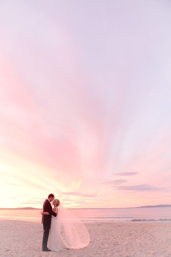 Gorgeous Noosa Beach Wedding snap.