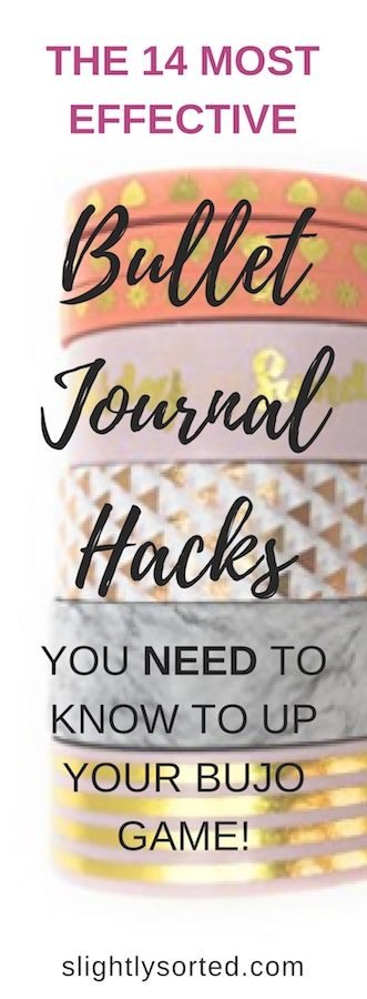 Love bullet journals! These bullet journal hacks are amazing for taking your bullet journaling to the next level. These are quality tips and I'm trying them all out as soon as I can!