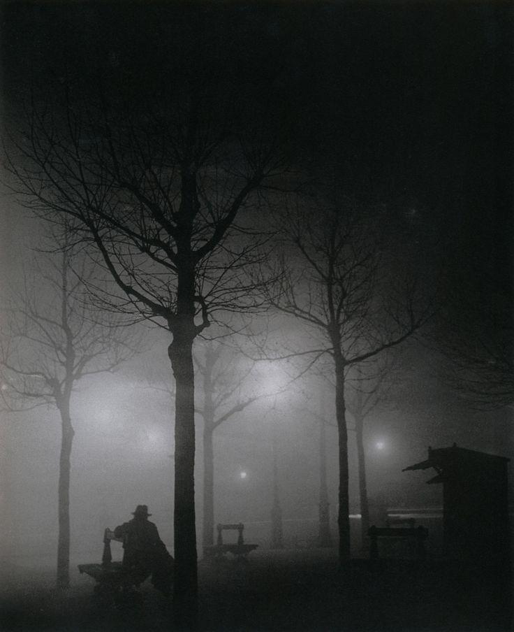 "Brassaï ""Avenue de l'Observatoire,"" Paris 14e, circa 1932-1934. From Brassaï, Paris courtesy of liquidnight."
