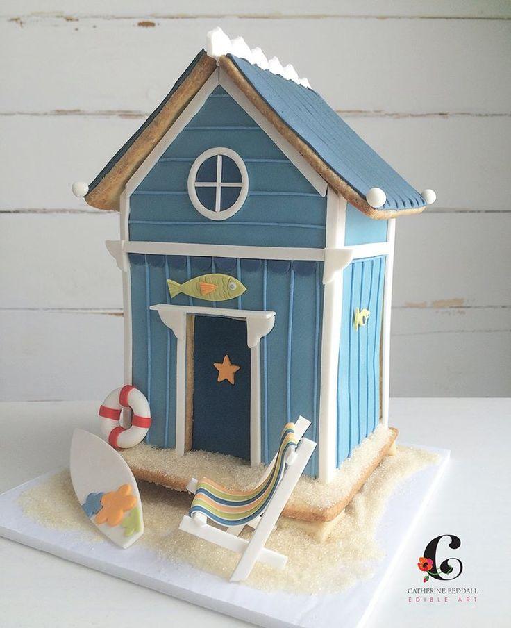Beach Themed Gingerbread House: Best 25+ Beach Style Birdhouses Ideas On Pinterest