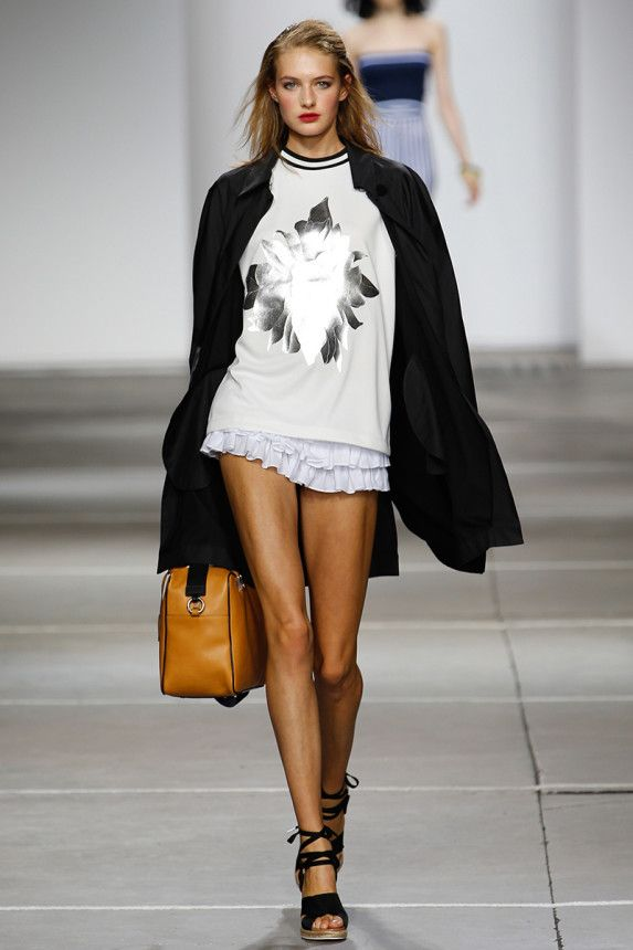 Topshop Unique Spring 2015 RTW – Runway – Vogue  shirt