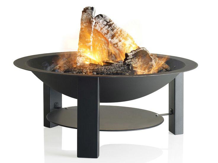 Brasero Fonte noir D75 cm - Modern 75