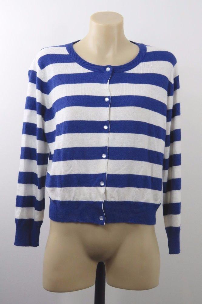 NWOT Size L 14 Revival Ladies Knit Top Cardigan Retro Pinup Chic Casual Design #Revival #Cardigan #CASUAL