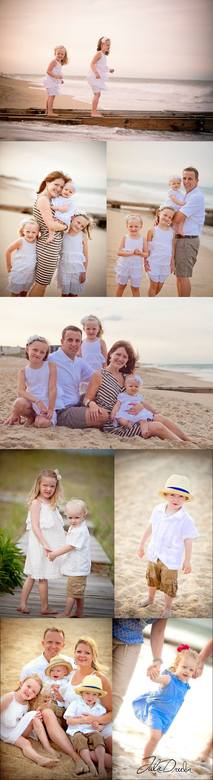 "Fun Times on the Beach – ""A Reunion!""  Beach Portraits with Julie"