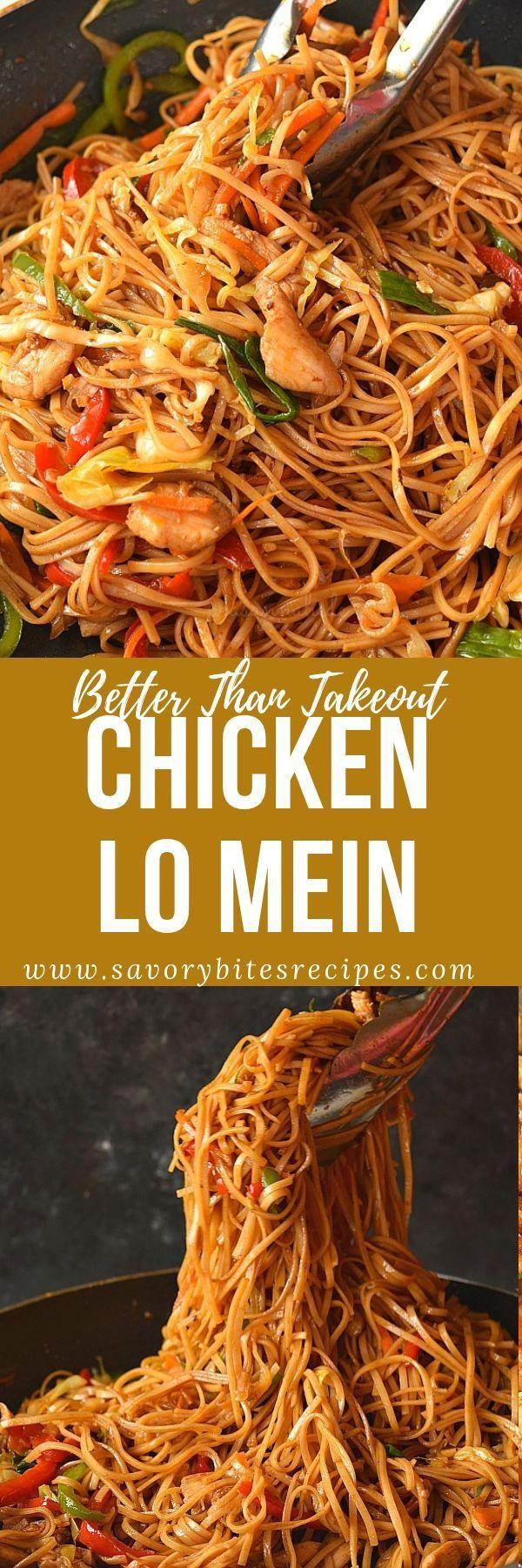 The 30-Minute Ultimate Chicken Lo Mein Recipe