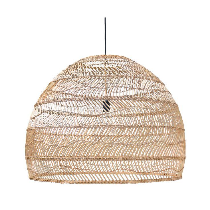 Wicker Large Hanging Lamp • WOO Design